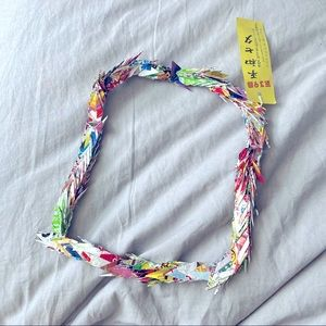 Origami Necklace from Japan